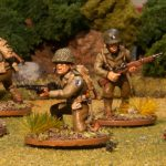 US Infantry Example of Our Painting Service For WWII Miniatures