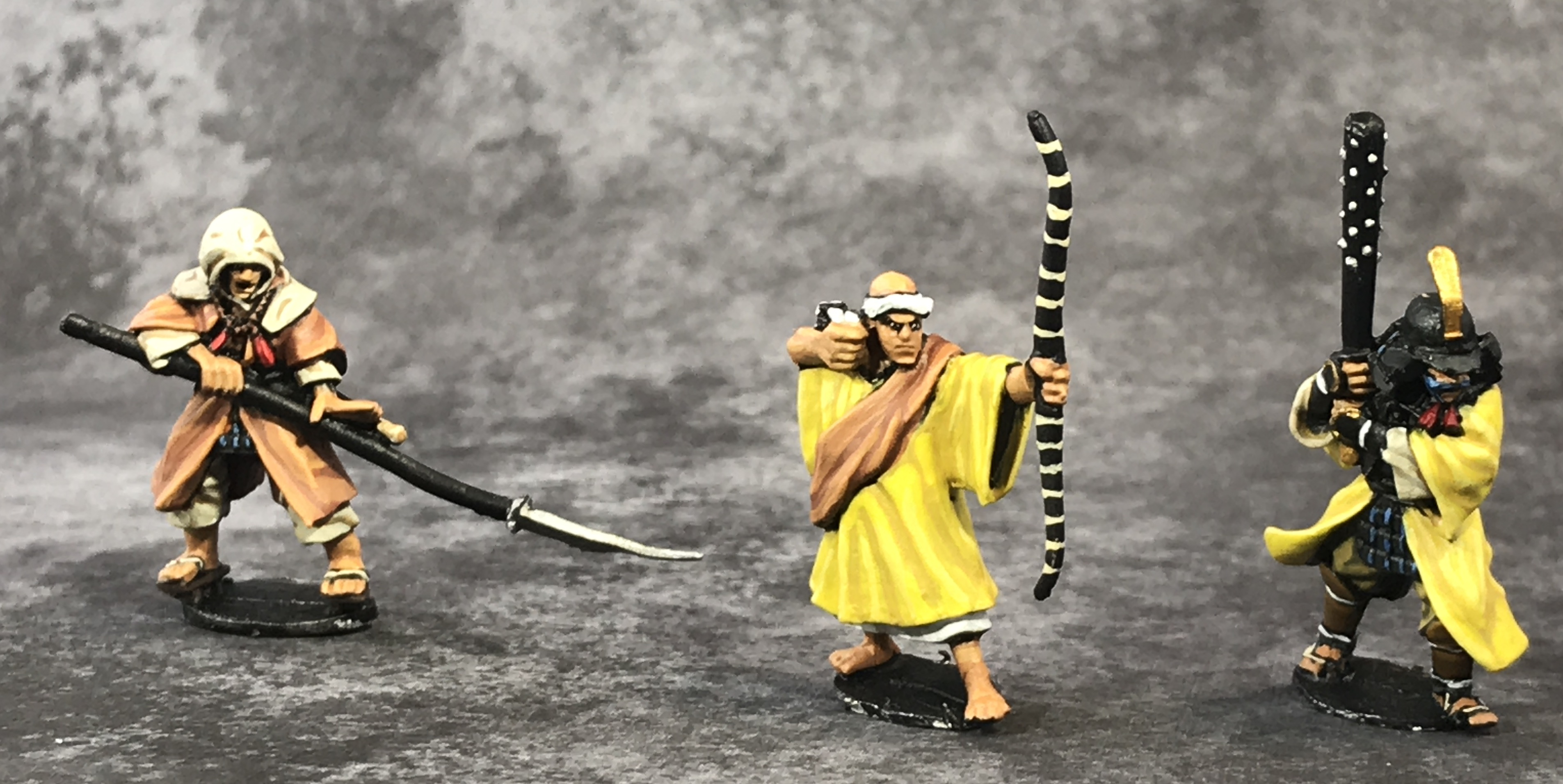 Painted Monk miniatures