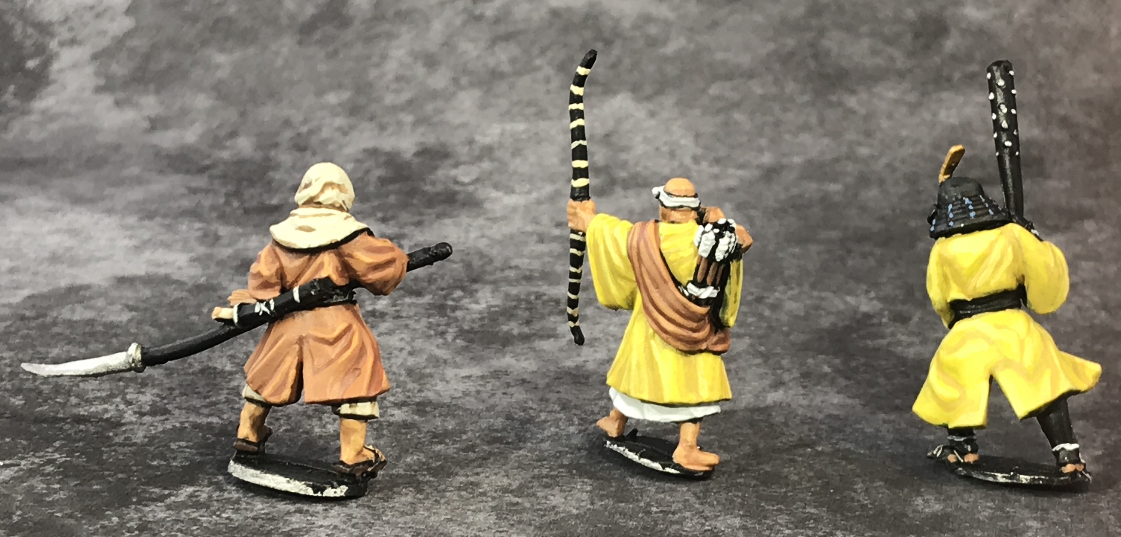 Painted Ronin Monk Minatures