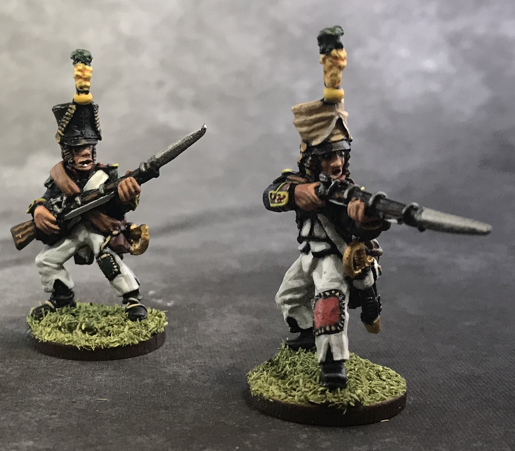 Painted 28mm Napoleonic French Infantry