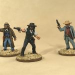 Painted Dead Mans Hand Miniatures