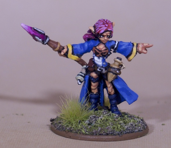 Painted Roleplaying Miniatures - Gnome Wizard