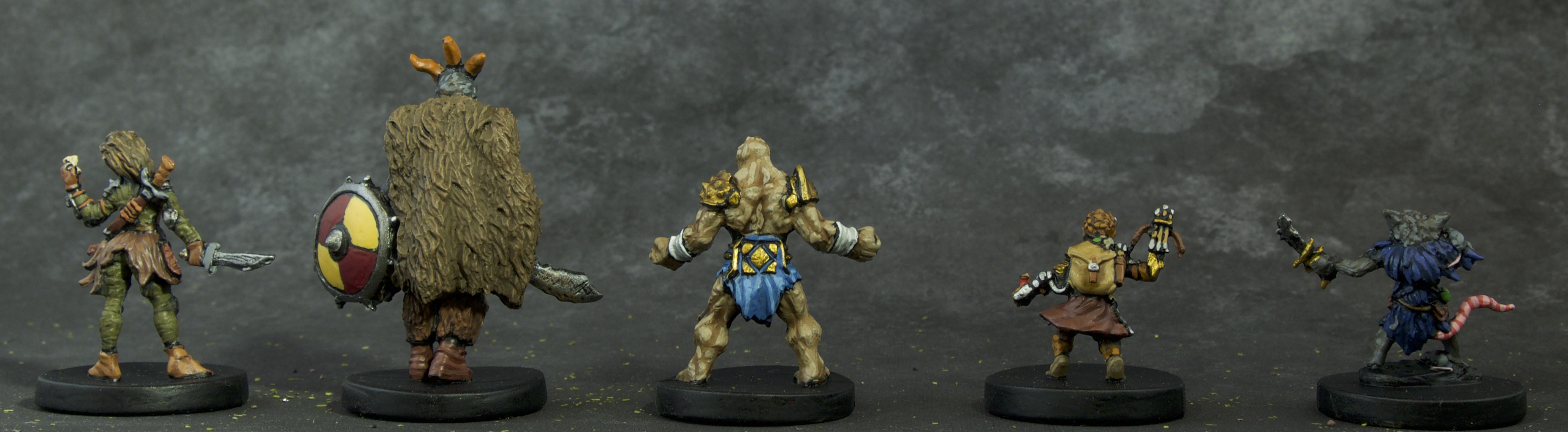 Painted Gloomhaven Miniatures
