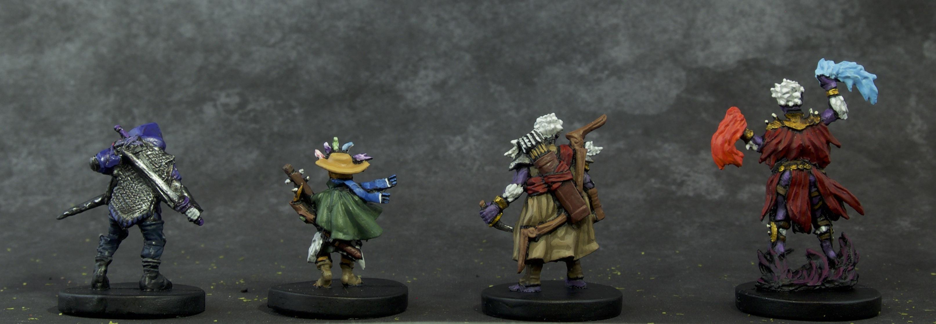Painted Gloomhaven Miniatures