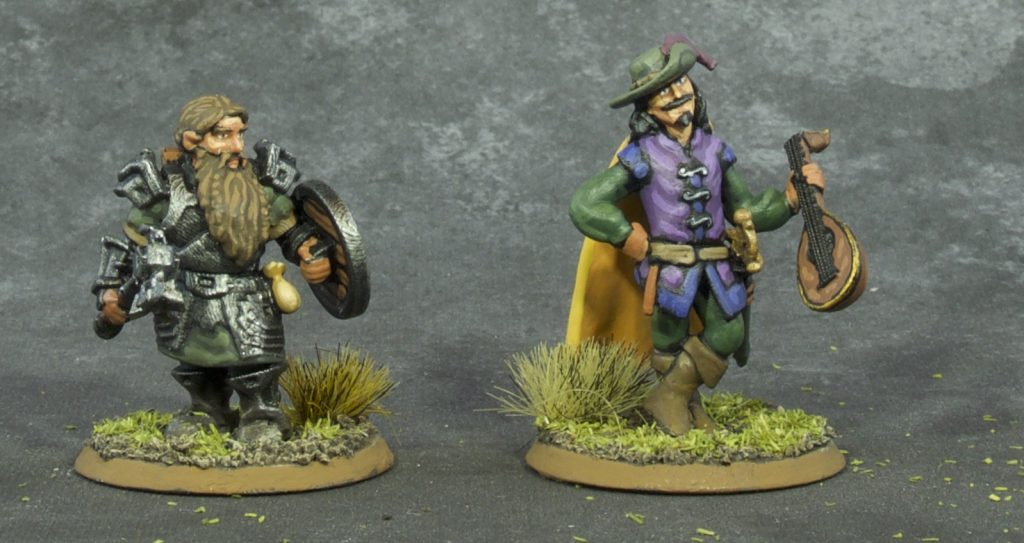 Painted 28mm Fantasy Miniatures