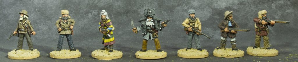 Painted Dead Mans Hand Mountain Men