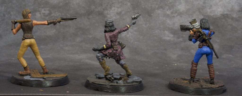 Fallout Miniatures Group 3 (back)