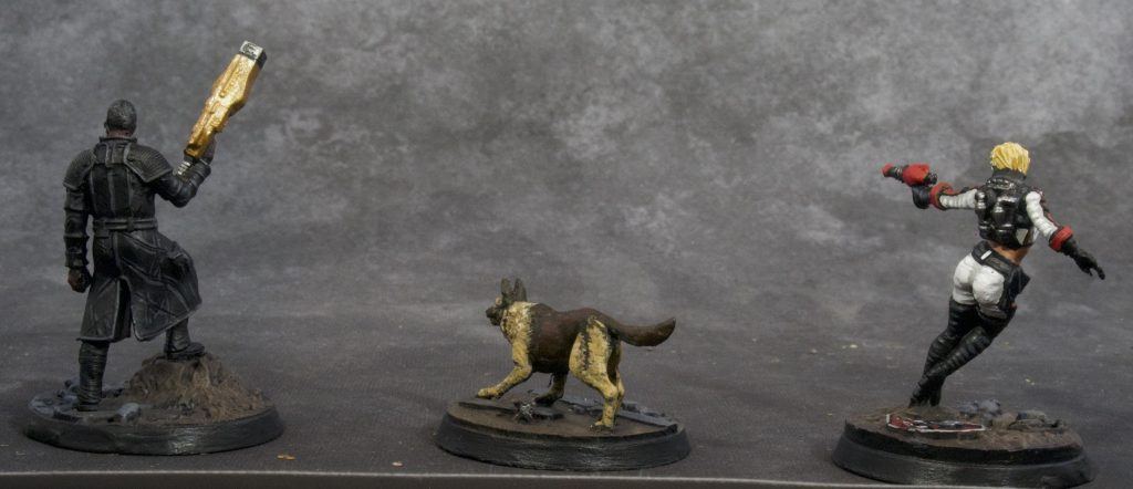 Fallout Miniatures Group 1 (back)