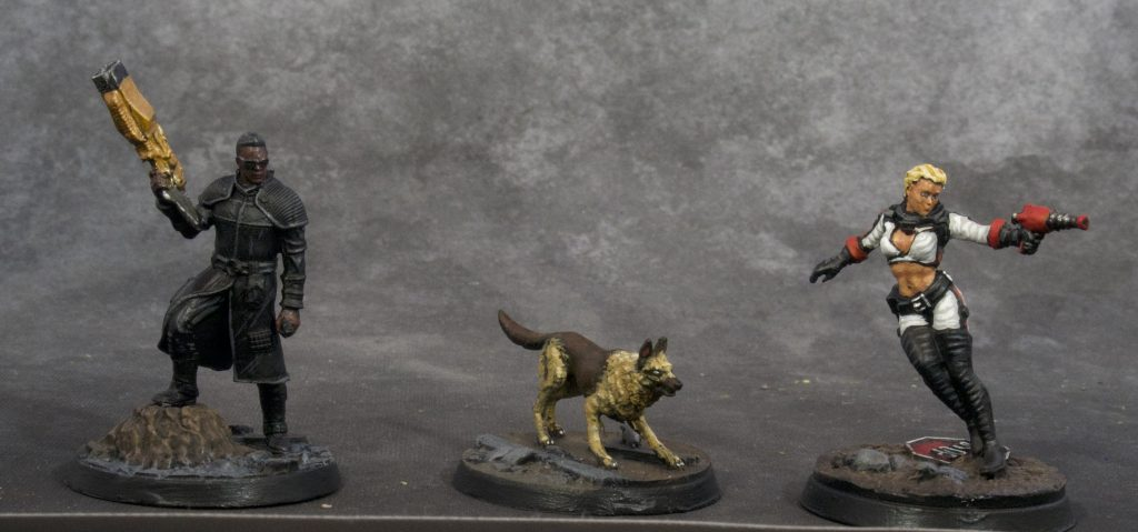 Fallout Miniatures Group 1 (front)