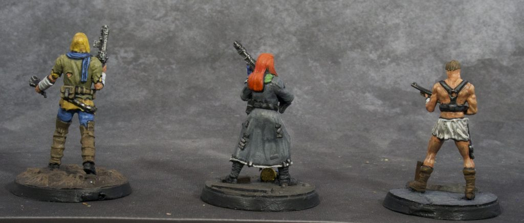 Fallout Miniatures Group 2 (back)