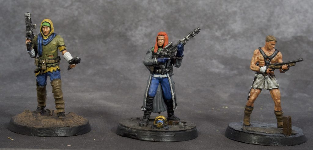 Fallout Miniatures Group 2 (front)