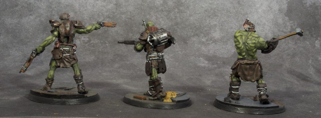 Fallout Miniatures Group 4 (back)