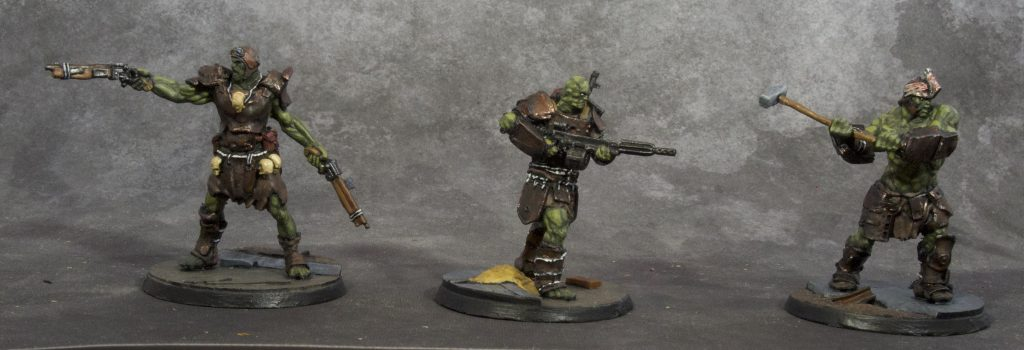 Fallout Miniatures Group 4 (front)